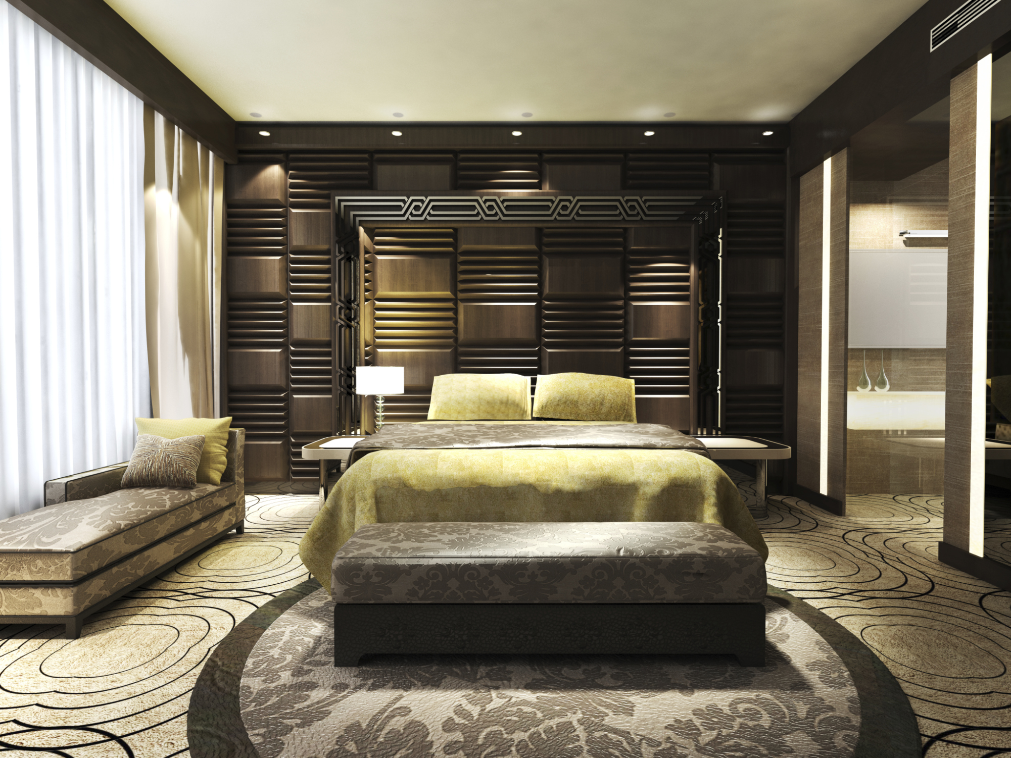 Guestroom Design and Meeting Productivity