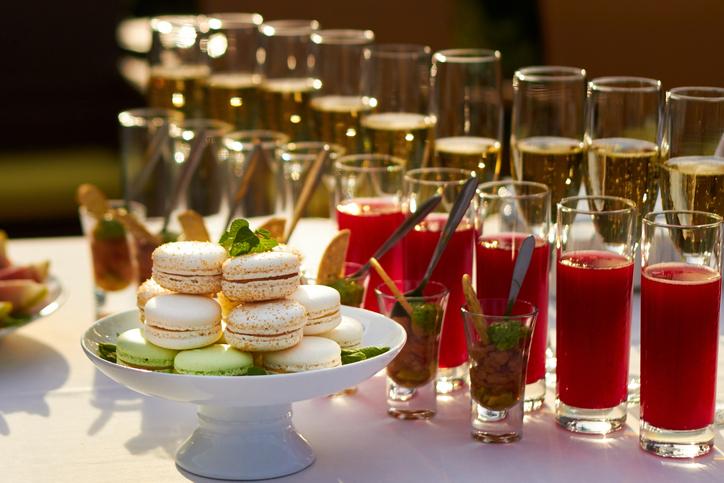VIP Welcome Refreshments